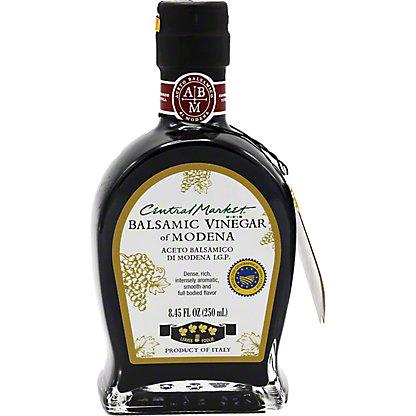 Central Market Balsamic Vinegar of Modena, 4 Leaf,8.45 OZ
