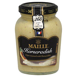 Maille Dijon Mustard With Horseradish,7.2 OZ