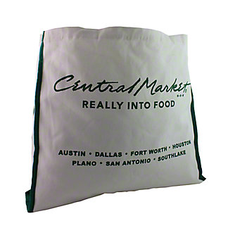 CENTRAL MARKET Canvas Bag,EACH