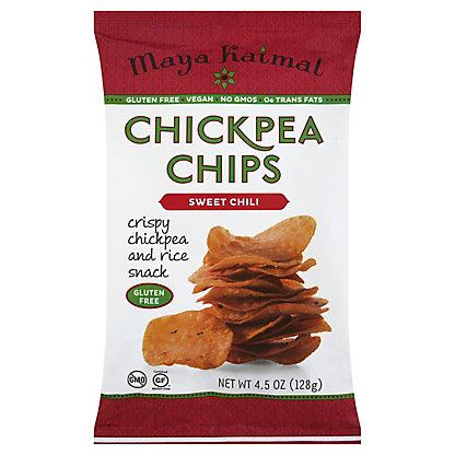 Maya Kaimal Sweet Chili Chickpea Chips,4.5 OZ