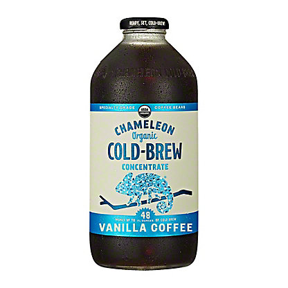 Chameleon Cold-Brew Vanilla Coffee Concentrate, 32 oz