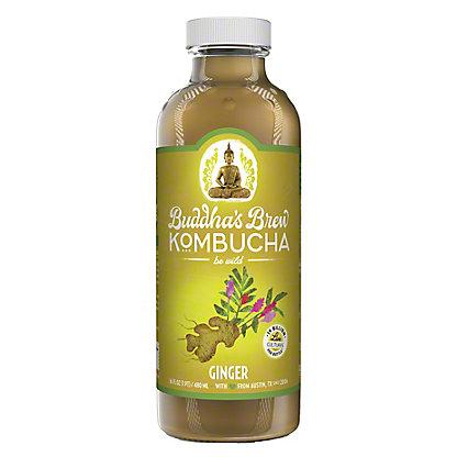 Buddha's Brew Ginger Kombucha,16.00 oz