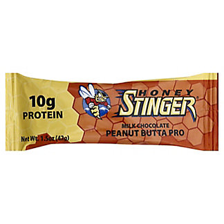 Honey Stinger Peanut Butta Pro 10g Whey Protein Bar,1.5 OZ