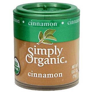 Simply Organic Cinnamon,0.67 oz (19 g)