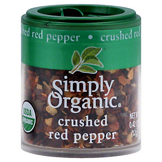 Simply Organic Crushed Red Pepper,.42OZ