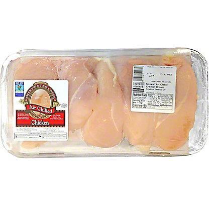 Central Market Natural Chicken Grade A Boneless Breast Filet, LB