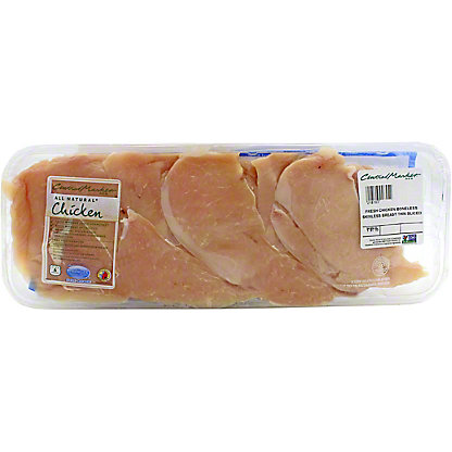 Central Market Natural Chicken Grade A Thin Slice Breast