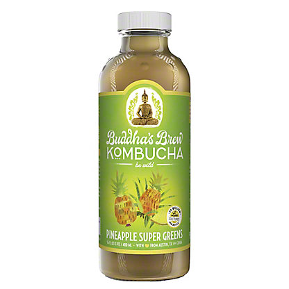 Buddha's Brew Pineapple Kombucha, 16 oz