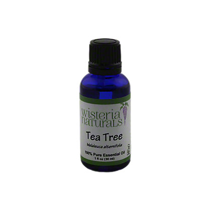 Wisteria Naturals Tea Tree Essential Oil,1 OZ