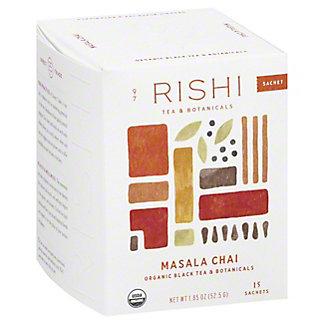 Rishi Masala Chai Tea Bags, 15 ea