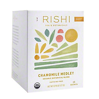 Rishi Chamomile Medley Herbal Tea Bag,15 CT