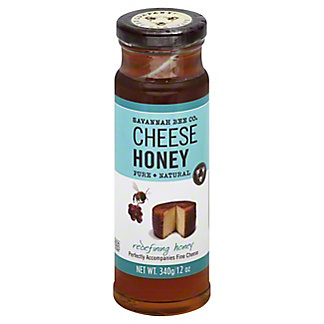 Savannah Bee Co. Cheese Honey,12 OZ