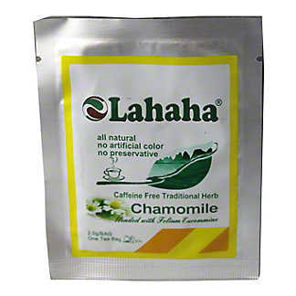LAHAHA Chamomile Herbal Tea, EA