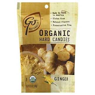 Go Naturally Organic Ginger Hard Candies,3.5 oz