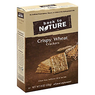Back to Nature Crispy Wheat Crackers, 8OZ
