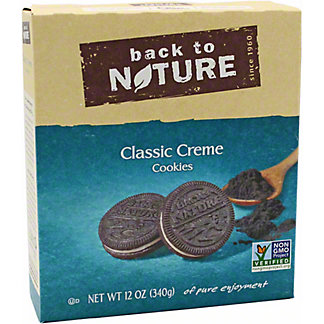 Back to Nature Original Sandwich Cookie, 12 oz