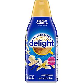 International Delight French Vanilla Liquid Coffee Creamer, 48 oz