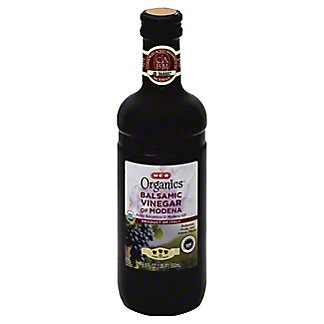 H-E-B Organics Balsamic Vinegar of Modena, 3 Leaf,16.9 OZ