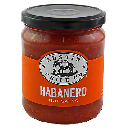 Austin Chile Co Habanero Hot Salsa,16OZ