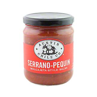 Austin Chile Co. Serrano-Pequin Salsa,16OZ