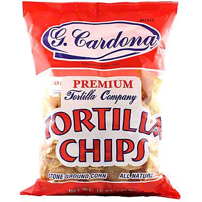G Cardona Premium All Natural Tortilla Chips, 16OZ