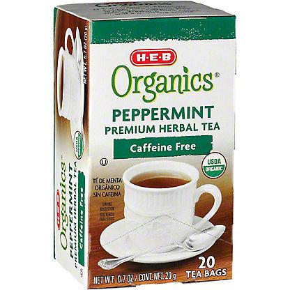 H-E-B Organics Peppermint Tea,20.00 ea
