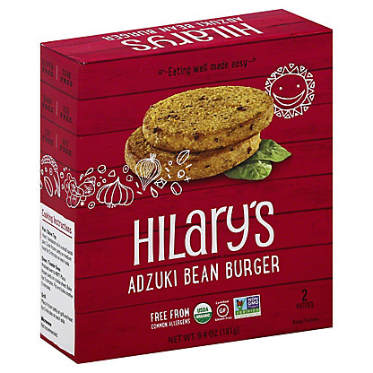 Hilary's Eat Well Adzuki Bean Burger,6.4 oz