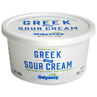 Adelphos Reduced Fat Sour Cream W/greek Yogurt, 12 oz