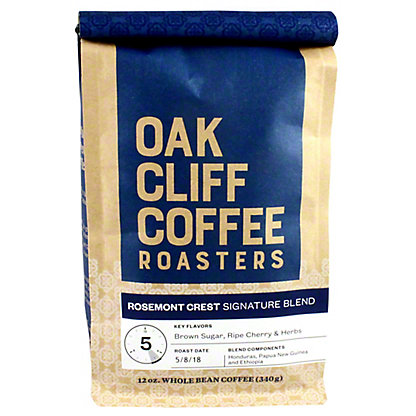 OAK CLIFF COFFEE Oak Cliff Coffee Rosemont Crest Blend,12 OZ