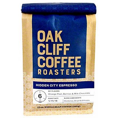 OAK CLIFF COFFEE Oak Cliff Coffee Hidden City Espresso,12 OZ