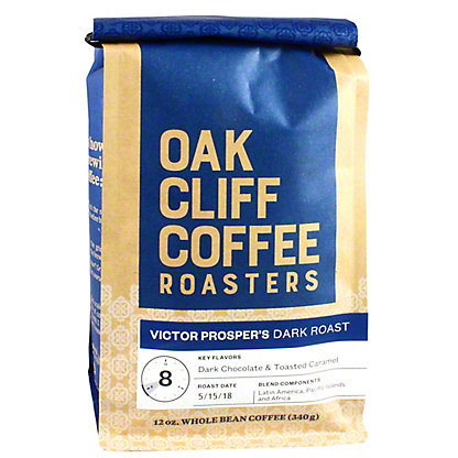 OAK CLIFF COFFEE Oak Cliff Coffee Victor Prosper Dark Roast,12 OZ