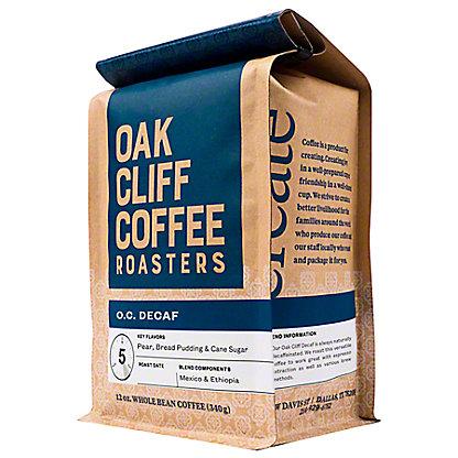 OAK CLIFF COFFEE Oak Cliff Coffee Decaf,12 OZ