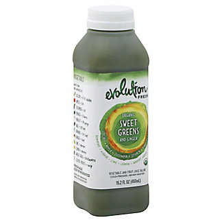 Evolution Fresh Organic Sweet Greens & Ginger, 15.20 oz