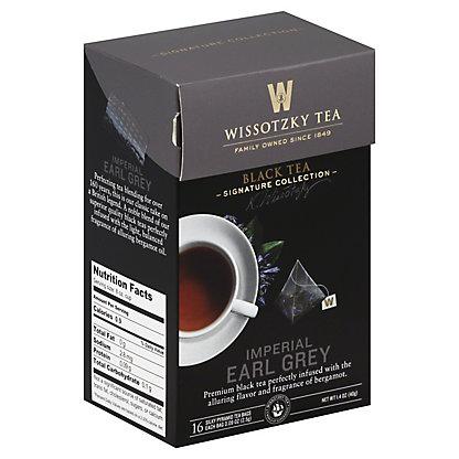 Wissotzky Tea Imperial Earl Grey Tea, 16 CT