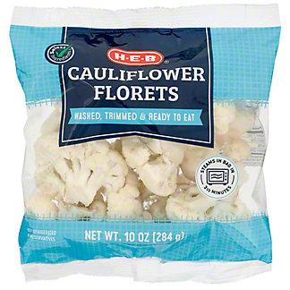 H-E-B Cauliflower Florets,10 OZ
