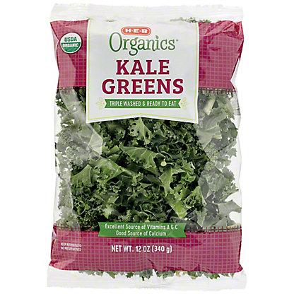 H-E-B Organics Kale Greens,12 OZ