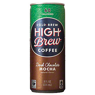 High Brew Coffee Dark Chocolate Mocha, 8 oz