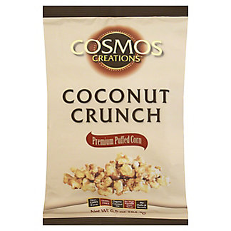 Cosmos Creations Coconut Crunch Popcorn,6.5 OZ