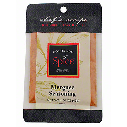 Colorado Spice Merguez Seasoning, 1.5OZ