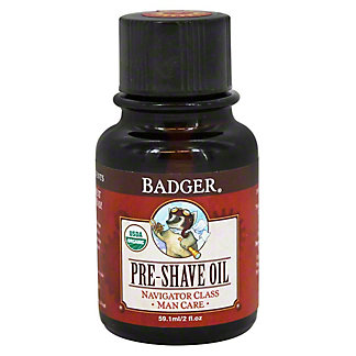 Badger Pre-Shave Oil, 2 OZ.