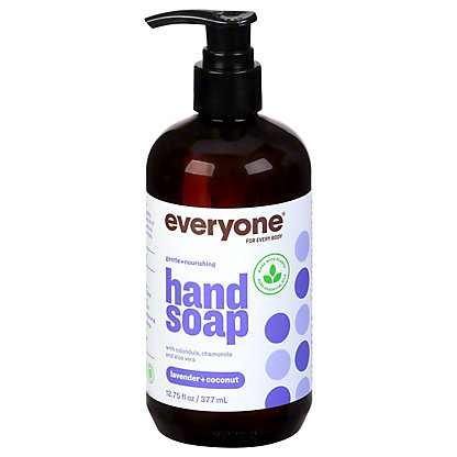 EO Everyone Lavender & Coconut Botanical Hand Soap,12.75 OZ