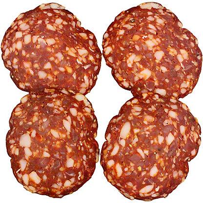 Columbus Craft Meats Hot Sopressata, 1/5LB
