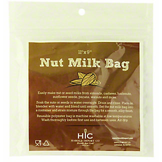 Harold Import Nut Milk Bag, EACH