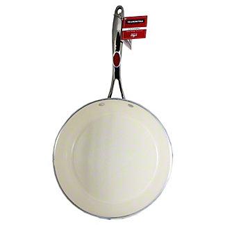 Tramontina 10 in Saute Pan Red Ceramic, 1EA