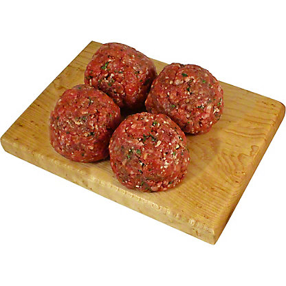 Central Market Natural Angus Beef Seasoned Meatballs