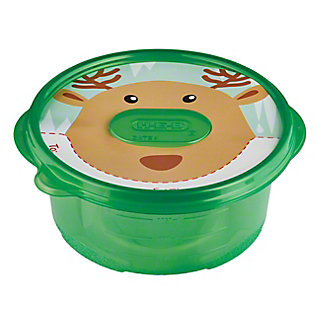 H-E-B Large Bowl Holiday Container, 5 ct