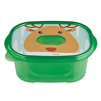 H-E-B Deep Dish Colored Rectangle Container, 7 ct