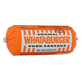 Whataburger Original Pork Sausage,16 OZ