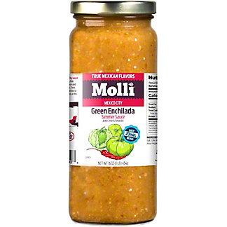 MOLLI Molli Arbol Chile Tomatillo Cooking Sauce,16OZ