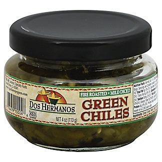 Dos Hermanos Diced Green Chiles,4 oz